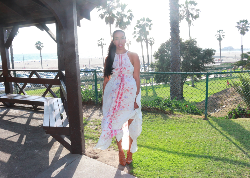 Bloomingdales Free People Dress - Printed Caught In The Moment