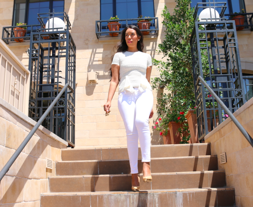 Classic Whites - All White Outfit