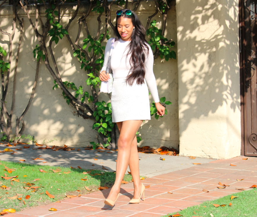Hey Girl, Hey! - Stylish Look All White Outfit