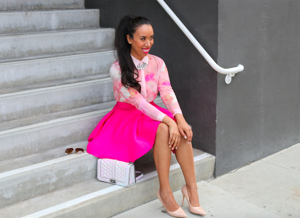 Rosie Rose - Girly Look All Pink Outfit