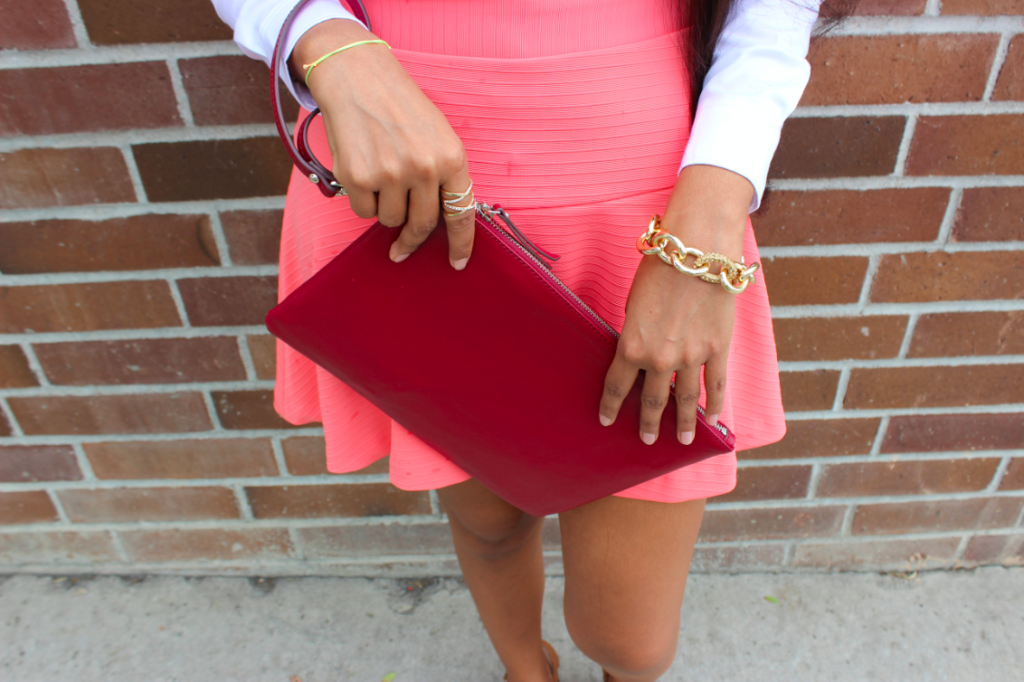 Business Casual With A Hint Of Color Poshscene Blog